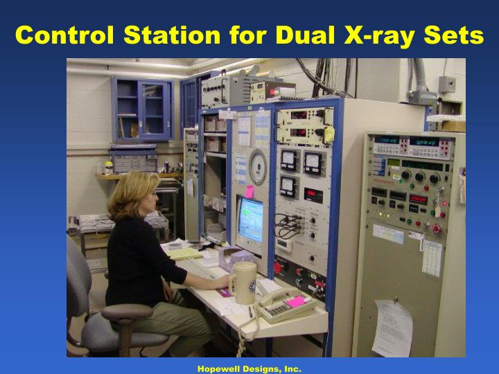 Control Station for Dual X-ray Sets