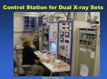 control station for dual x ray sets