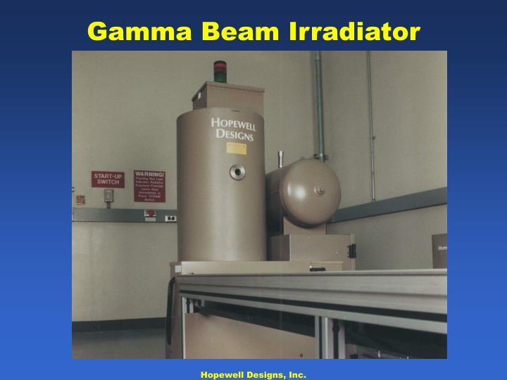 Gamma Beam Irradiator