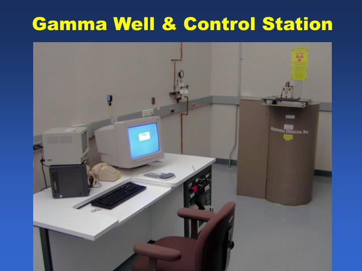 Gamma Well & Control Station