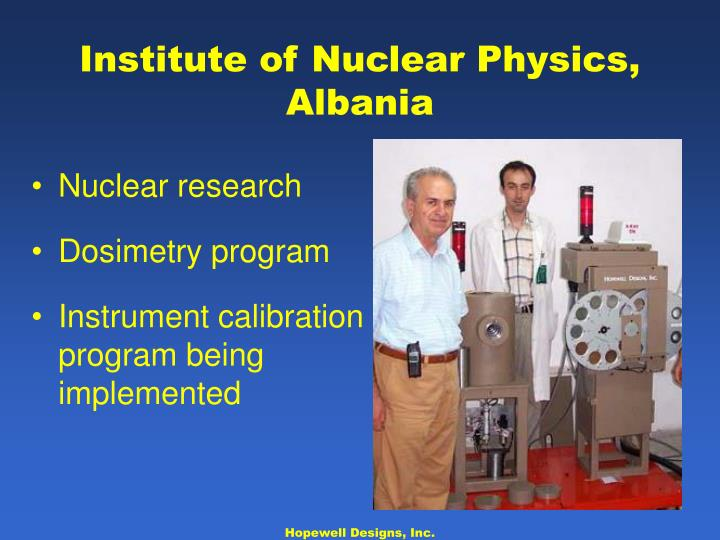 Nuclear research