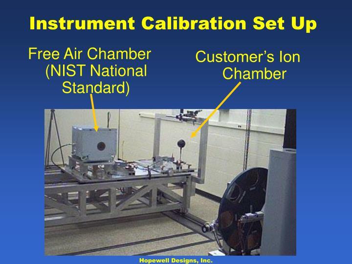 Instrument Calibration Set Up