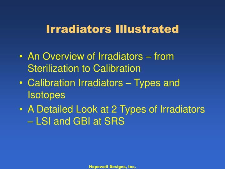 Irradiators Illustrated