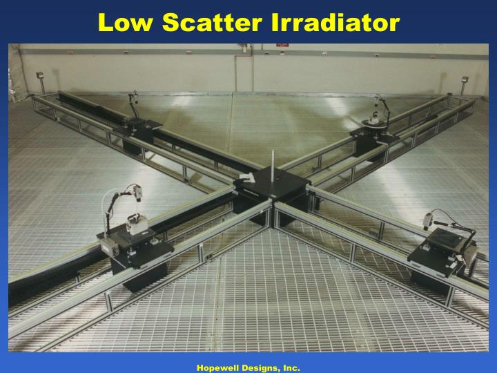 Low Scatter Irradiator