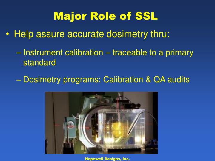 Major Role of SSL