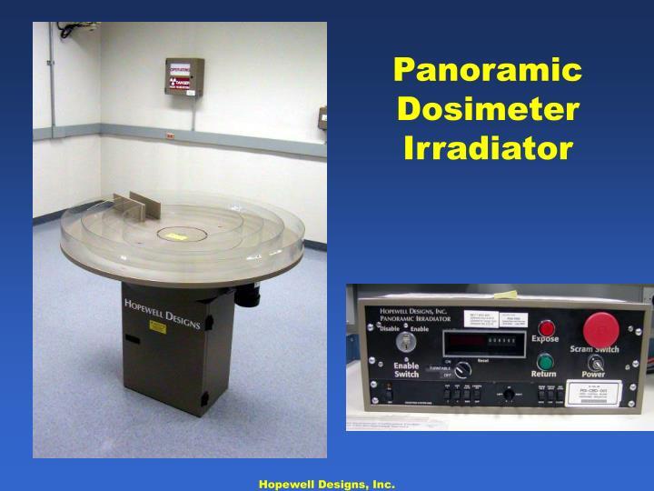 Panoramic Dosimeter Irradiator