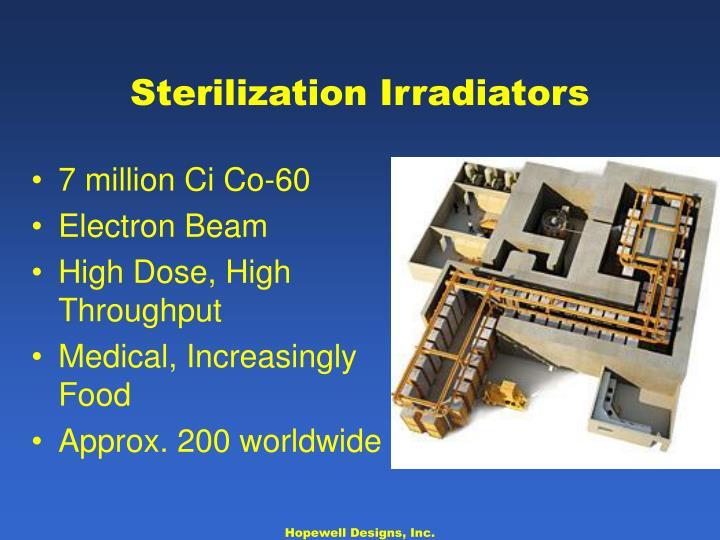 Sterilization Irradiators