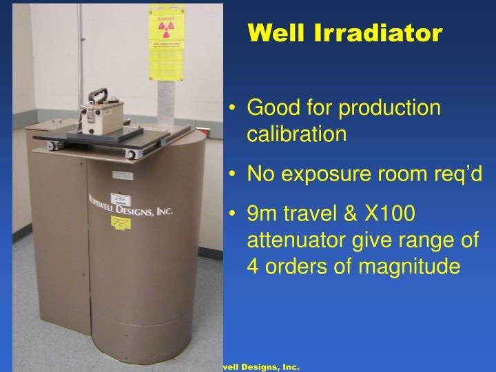 Well Irradiator