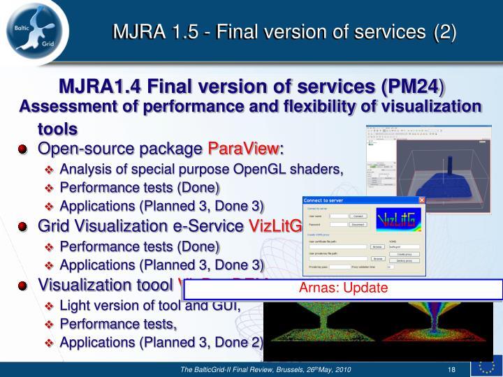 MJRA 1.5 -
