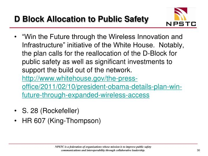 D Block Allocation to Public Safety