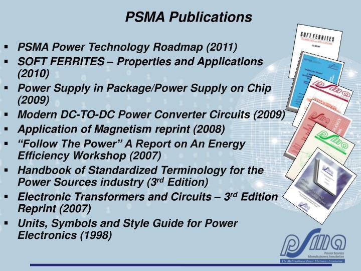 PSMA Publications