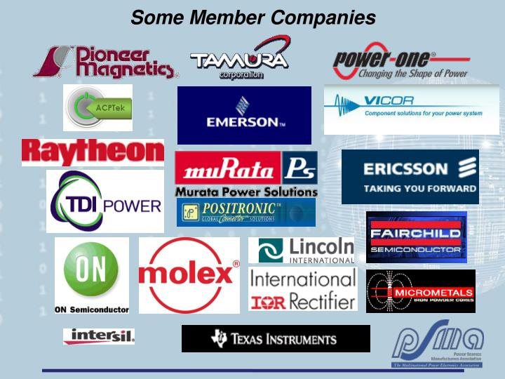 Some Member Companies