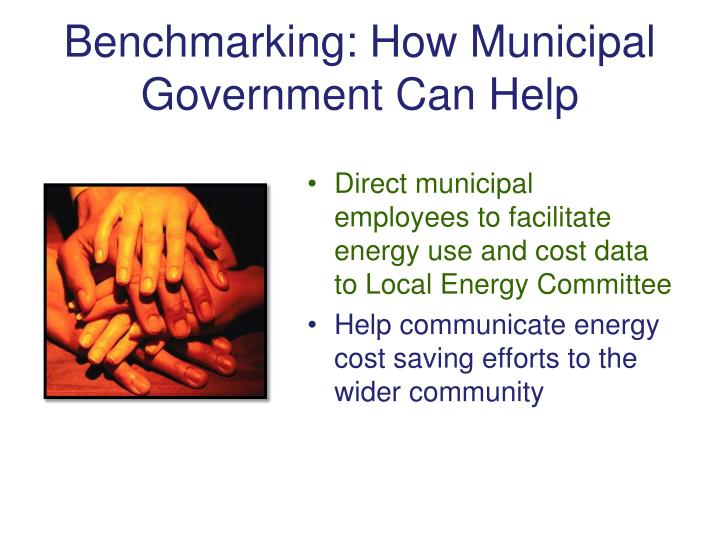 Benchmarking: How Municipal Government Can Help