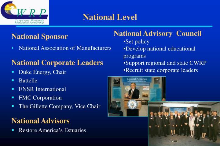National Sponsor