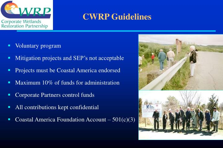 CWRP Guidelines