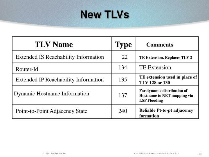 New TLVs