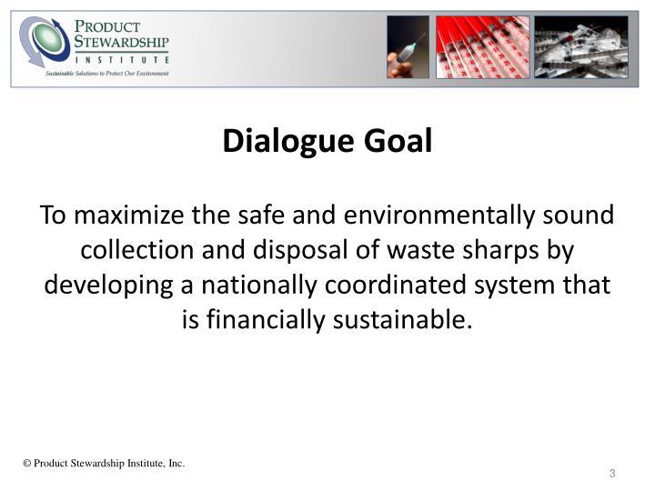 Dialogue Goal