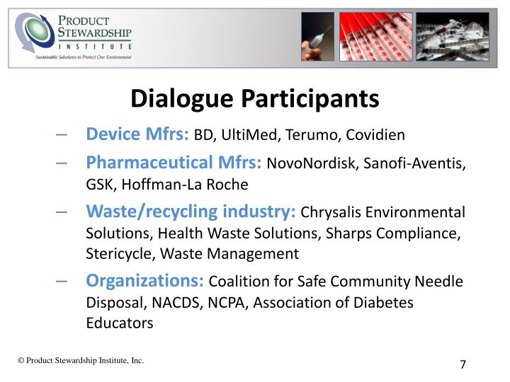 Dialogue Participants