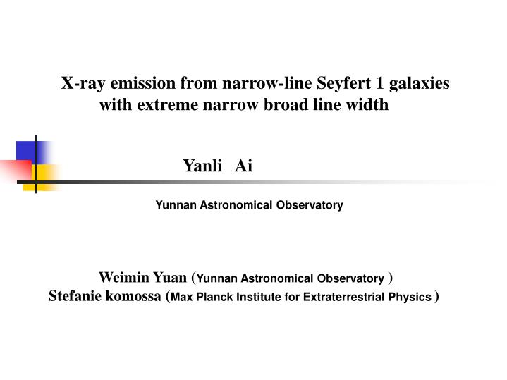 X-ray emission from narrow-line Seyfert 1 galaxies with extreme narrow broad line width