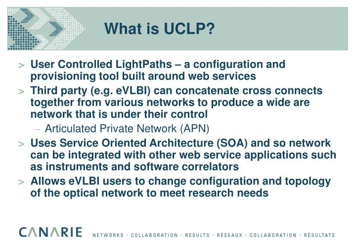 What is UCLP?