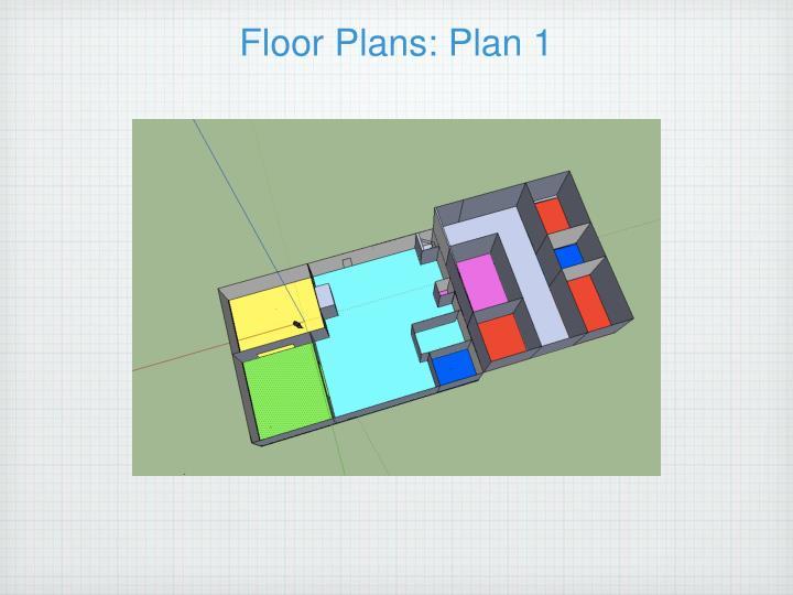 Floor Plans: Plan 1