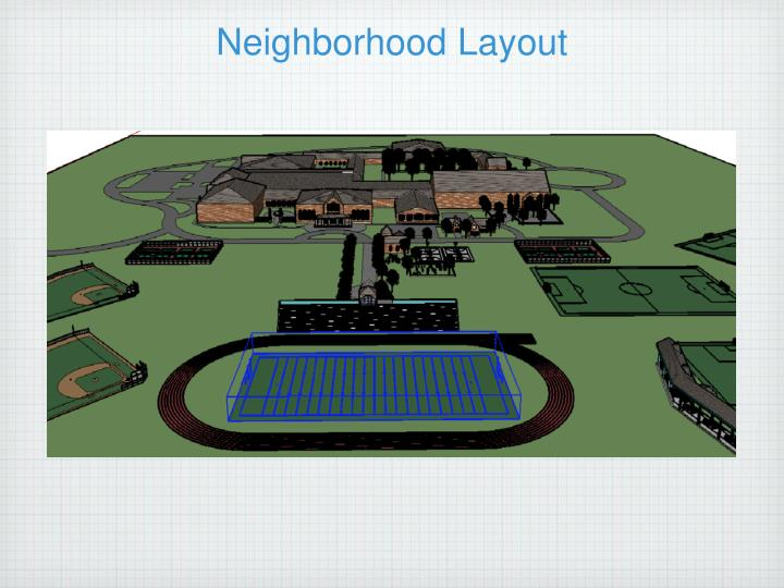 Neighborhood Layout