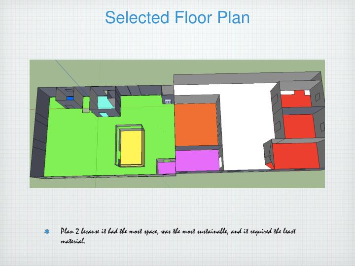Selected Floor Plan