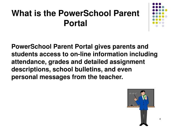 What is the PowerSchool Parent Portal