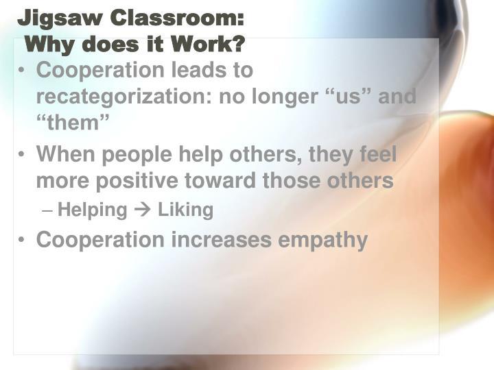 Jigsaw Classroom: