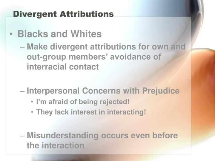 Divergent Attributions