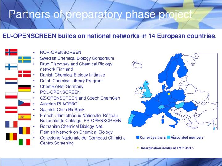 Partners of preparatory phase project