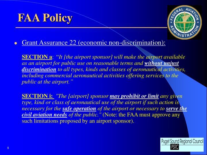 FAA Policy