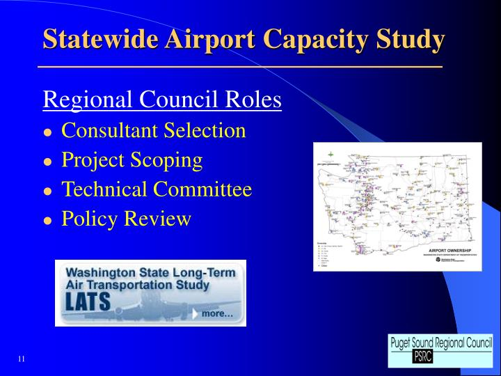 Statewide Airport Capacity Study