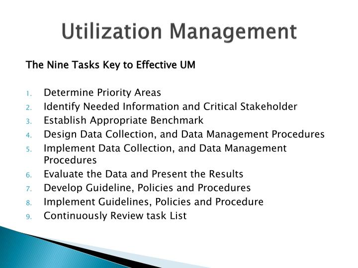 process of concurrent utilization review essay Aligning case management processes with the revenue cycle  admission, concurrent, discharge and post-discharge  without the support of a physician advisor or a utilization review committee.