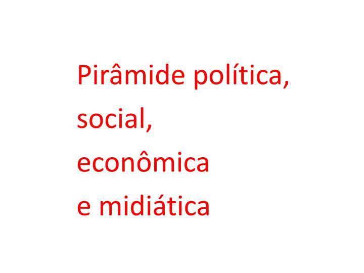 Pirâmide política,