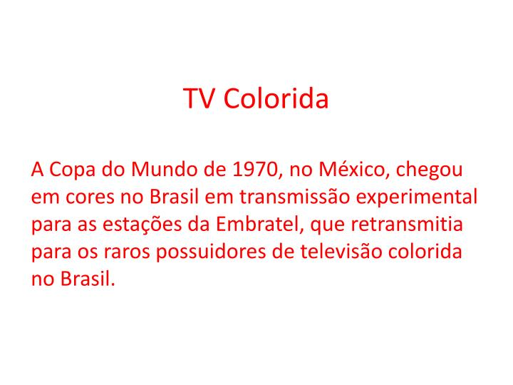 TV Colorida