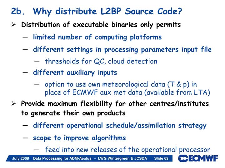 2b.  Why distribute L2BP Source Code?