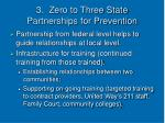 3 zero to three state partnerships for prevention