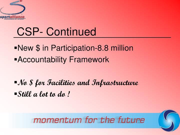 CSP- Continued