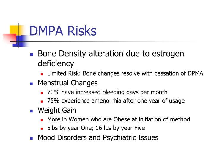 DMPA Risks