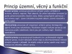 princip zemn v cn a funk n