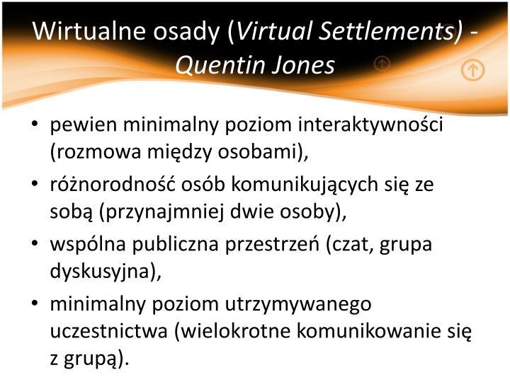 Wirtualne osady (
