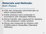 materials and methods both phases