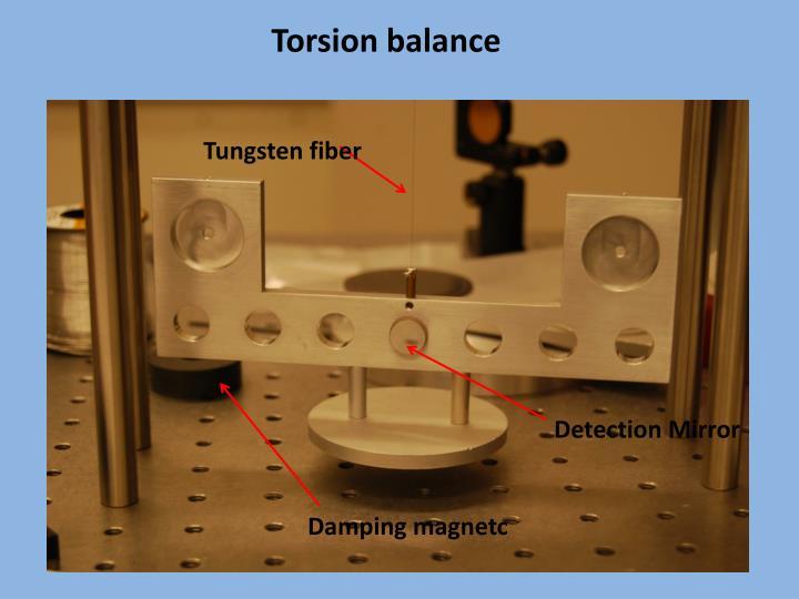 Torsion balance
