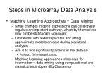 steps in microarray data analysis4