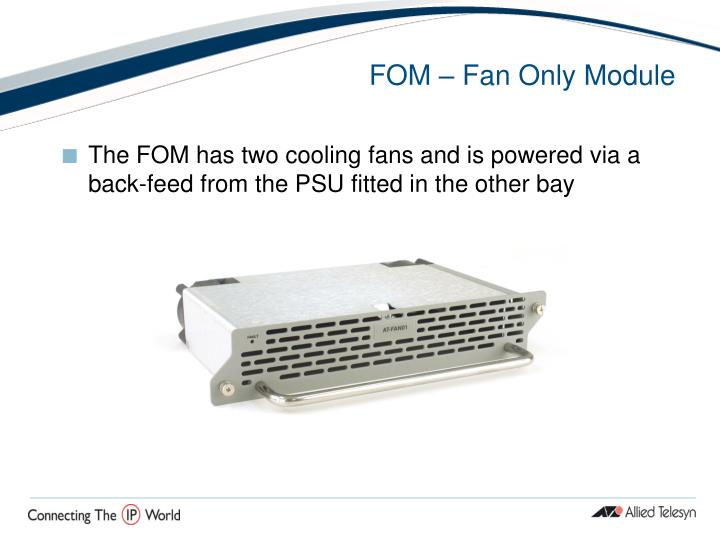 FOM – Fan Only Module
