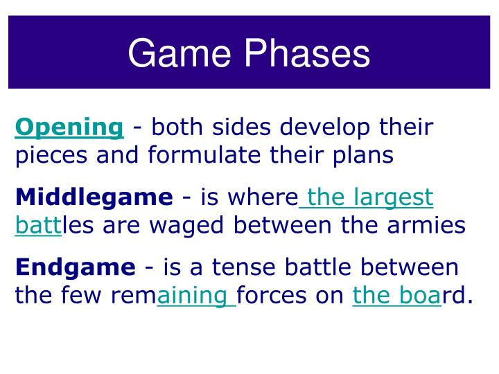 Game Phases