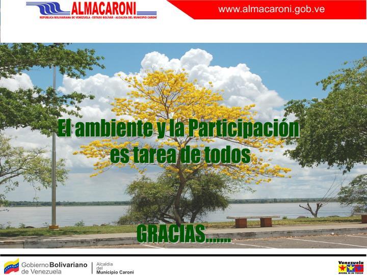 El ambiente y la Participación