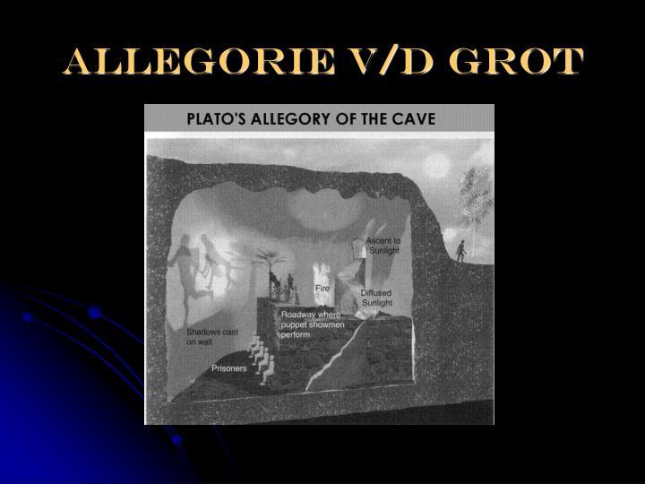 ALLEGORIE V/D GROT