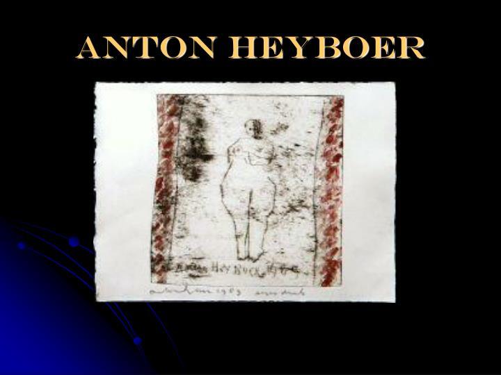 Anton heyboer
